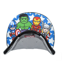 tokidoki - Marvel Lineup Snapback Hat, Grey - The Giant Peach
