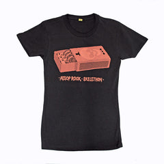 Aesop Rock - Matchbox Women's Shirt, Black - The Giant Peach - 1