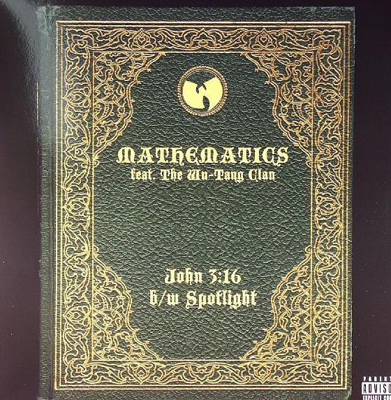 "Mathematics Feat. Wu-Tang Clan - John 3:16 b/w Spotlight, 12"" Vinyl - The Giant Peach"