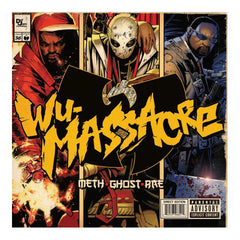 Method Man, Ghostface Killah & Raekwon- Wu Massacre, LP Vinyl - The Giant Peach