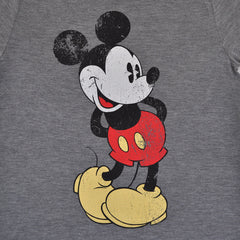 Mickey Women's Tee, Heather Grey - The Giant Peach