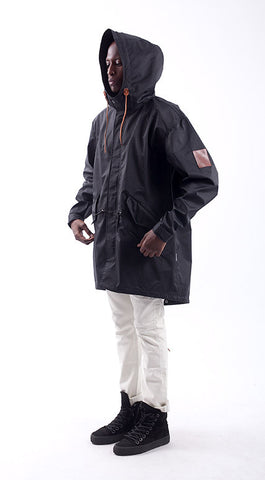 Akomplice VSOP -  The Mickey Men's Trench Jacket, Black