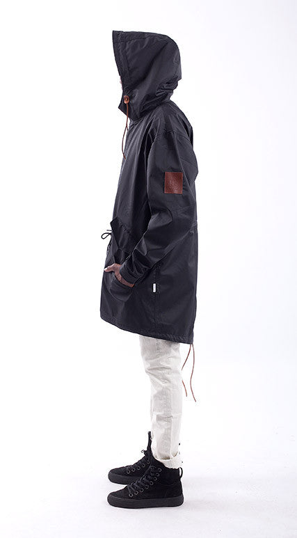 Akomplice VSOP -  The Mickey Men's Trench Jacket, Black - The Giant Peach