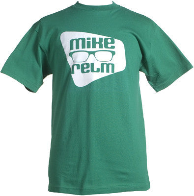 Mike Relm - Eyeglass Shirt, Kelly Green - The Giant Peach