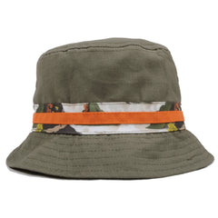 Staple - Militech Bucket Hat, Olive - The Giant Peach - 2