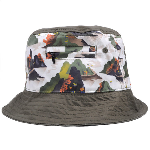Staple - Militech Bucket Hat, Olive