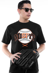 Adapt - Misfit Classic Men's Tee,  Black - The Giant Peach - 1