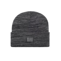 HUF - Mixed Yarn Beanie, Grey Heather - The Giant Peach