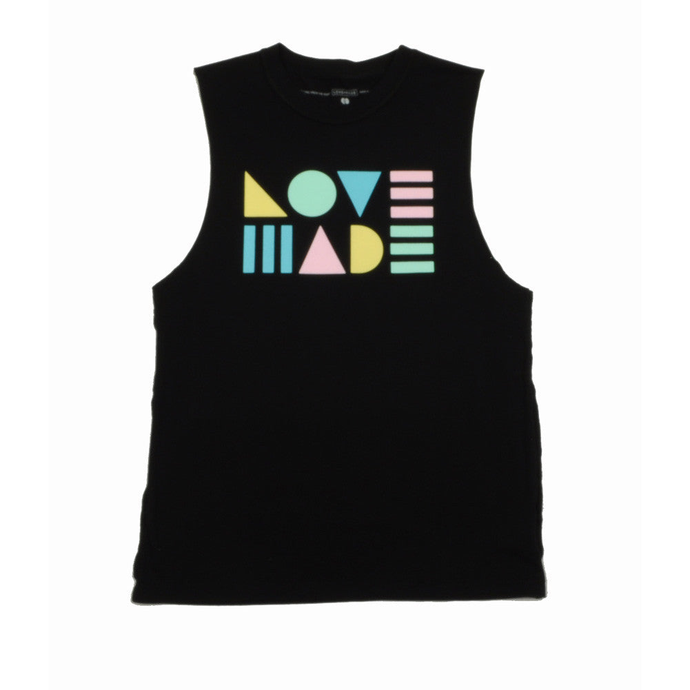 Lovemade - Modern Lovers  Women's Tee, Black - The Giant Peach - 2
