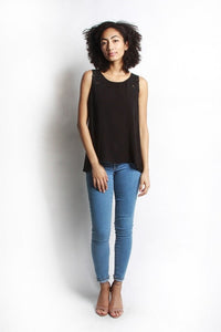 MOD REF - The Monica Top, Black