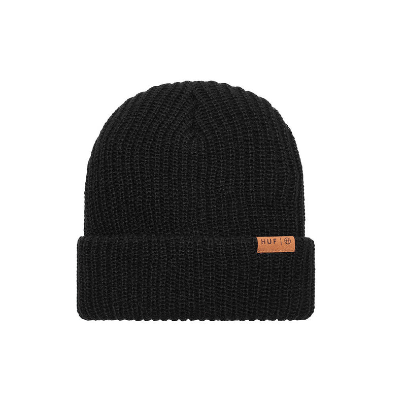 HUF - Mohair Beanie, Black - The Giant Peach