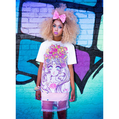 JapanLA x Miss Kika Moonlight Legend Unisex Tee - The Giant Peach - 2