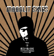 "Aceyalone - Moonlit Skies, 12"" Vinyl - The Giant Peach"