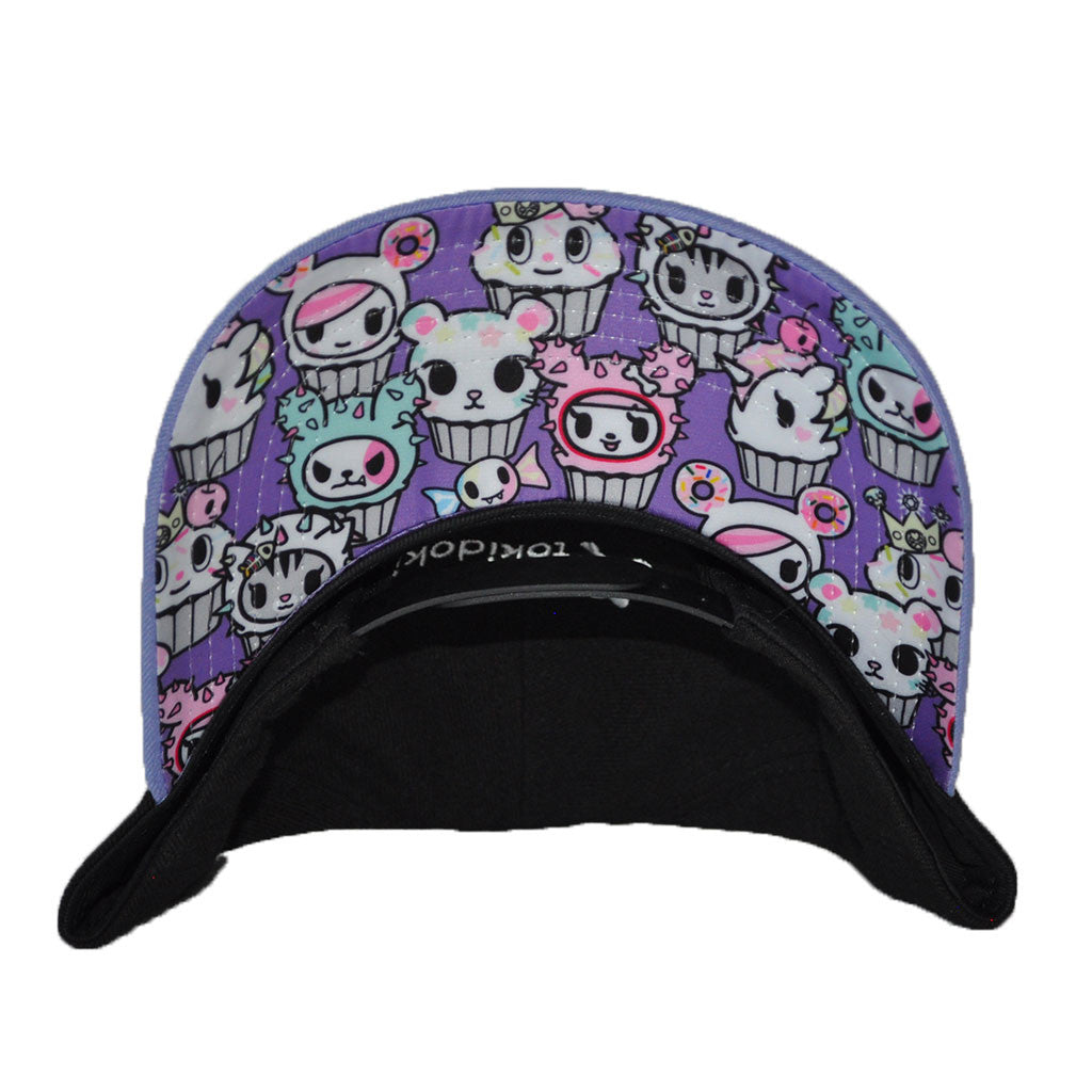 tokidoki - More Cupcakes Snapback Hat, Black - The Giant Peach - 2