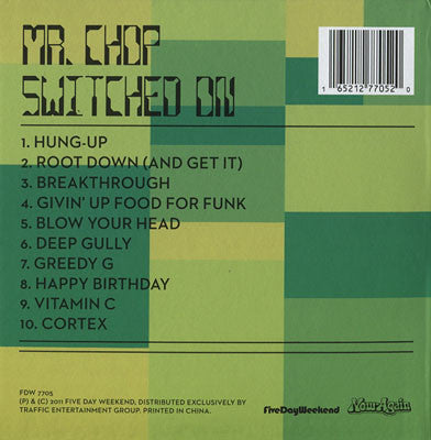 Mr. Chop - Switched On, CD