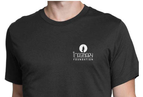 Imaginary Foundation - Multi Facet Men's Shirt, Black - The Giant Peach
