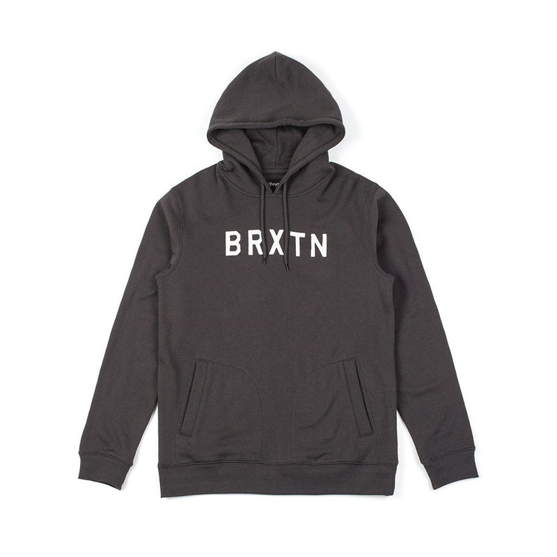 Brixton - Murray Men's Hoodie, Washed Black - The Giant Peach