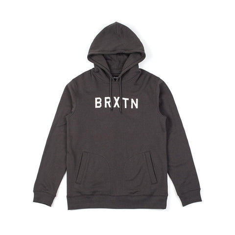 Brixton - Murray Men's Hoodie, Washed Black
