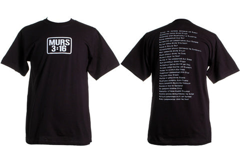 Murs - Verse 3:16 Shirt, Black