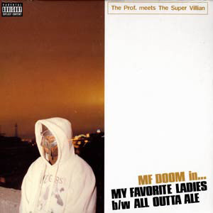 "M.F. DOOM - My Favorite Ladies, 12"" Orange Vinyl - The Giant Peach"