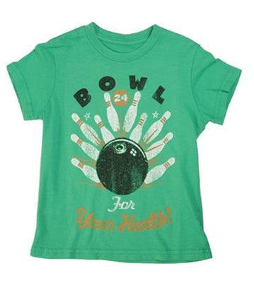 made U look - Bowl Infant & Toddler Tee, Leaf - The Giant Peach