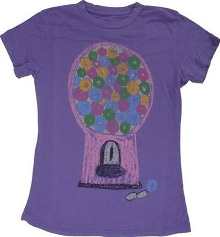 made U look - Gumball Infant & Toddler Tee, Grape - The Giant Peach