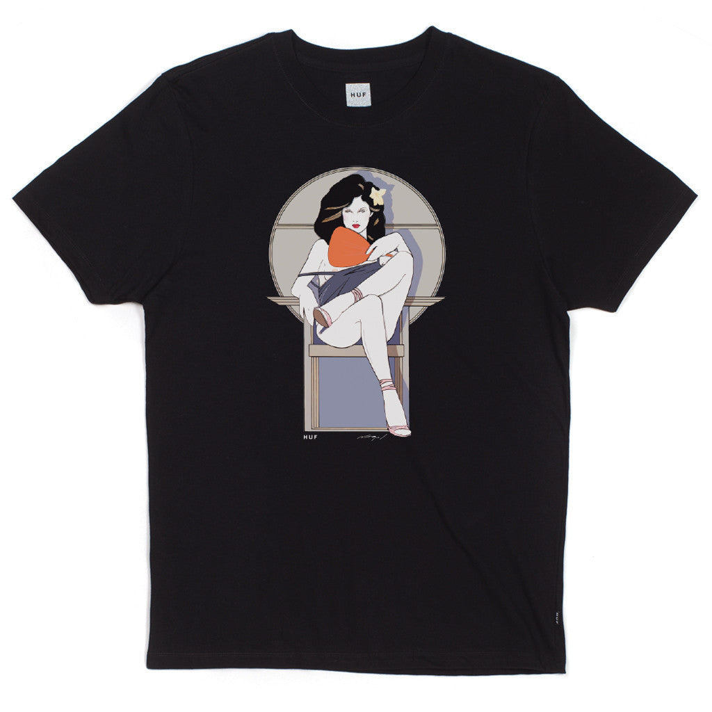 HUF x Nagel Chair Men's Tee, Black - The Giant Peach