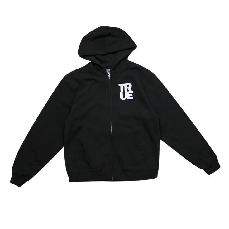 TRUE - Nations Kids Hoodie, Black