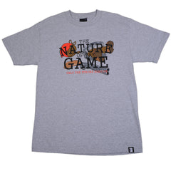 TRUE - FUDD Nature of the Game Men's Shirt, Heather Gray - The Giant Peach