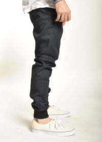Rustic Dime - Sunset Jogger, Navy Stretch Twill - The Giant Peach