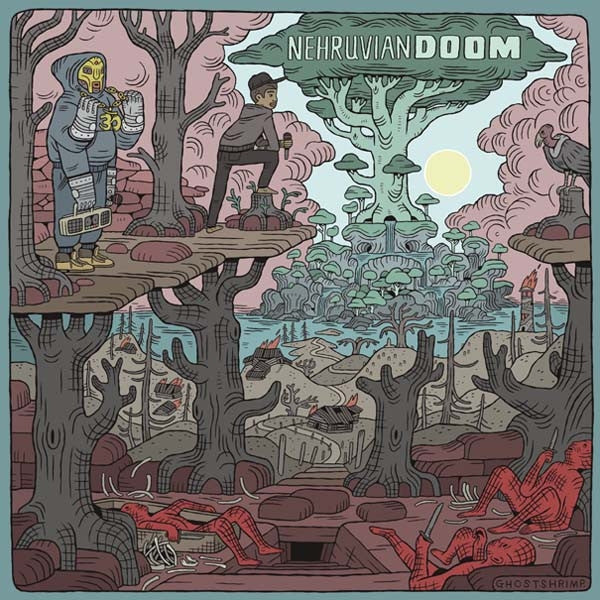MF Doom x Bishop Nehru - NEHRUVIANDOOM, CD - The Giant Peach