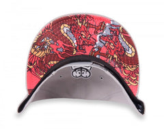 tokidoki - Ready to Strike Snapback Hat, Grey - The Giant Peach
