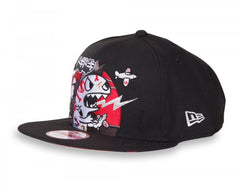 tokidoki - Fuji Rock Snapback Hat, Black - The Giant Peach