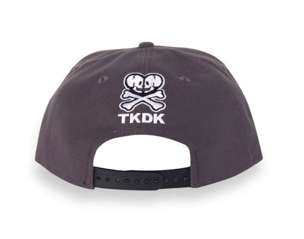 tokidoki - Hey Stranger Snapback Hat, Grey - The Giant Peach - 3