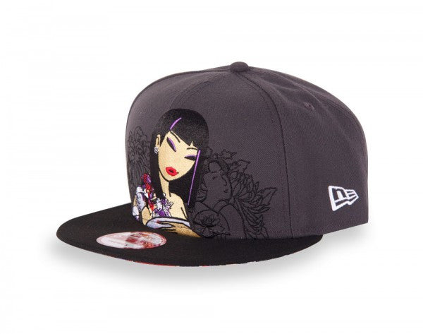 tokidoki - Hey Stranger Snapback Hat, Grey - The Giant Peach - 2