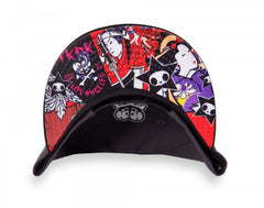 tokidoki - Hey Stranger Snapback Hat, Grey - The Giant Peach - 4