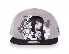 tokidoki - Pursuit Snapback Hat, Grey - The Giant Peach