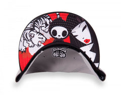 tokidoki - Pursuit Snapback Hat, Grey - The Giant Peach - 3
