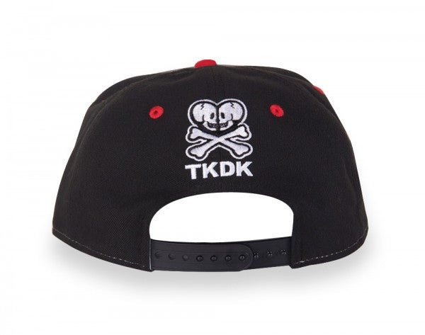 tokidoki - Pink Dragon Snapback Hat, Black - The Giant Peach - 2