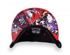 tokidoki - Pink Dragon Snapback Hat, Black - The Giant Peach - 4