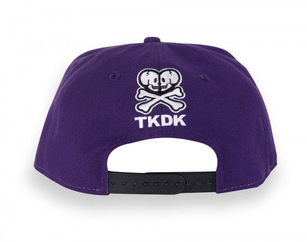 tokidoki - Triangulate Snapback Hat, Purple - The Giant Peach - 4