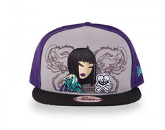 tokidoki - Triangulate Snapback Hat, Purple - The Giant Peach - 1
