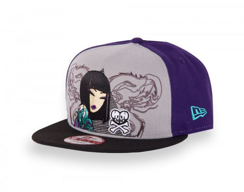 tokidoki - Triangulate Snapback Hat, Purple