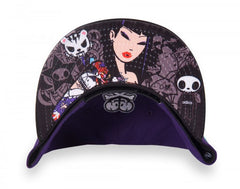 tokidoki - Triangulate Snapback Hat, Purple - The Giant Peach - 3