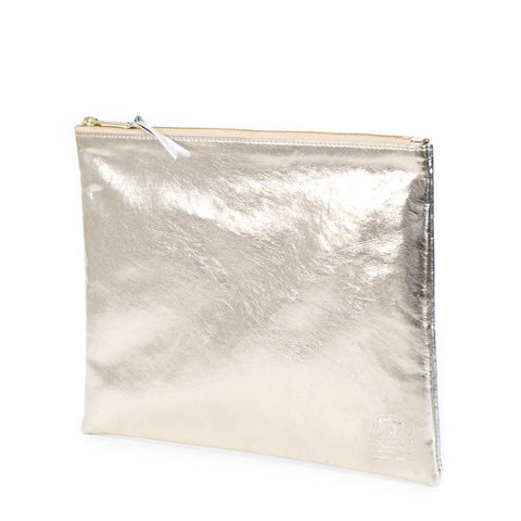 Herschel Supply Co - Network Pouch (Large), Gold/Silver