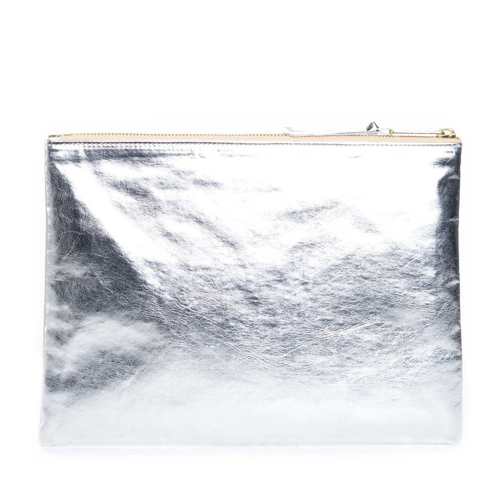 Herschel Supply Co - Network Pouch (Large), Gold/Silver - The Giant Peach