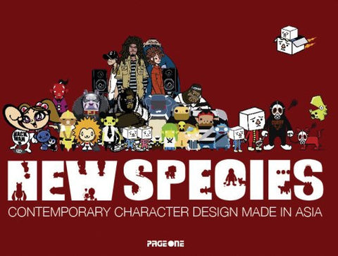 New Species - Contemporary Character Design, Hardcover