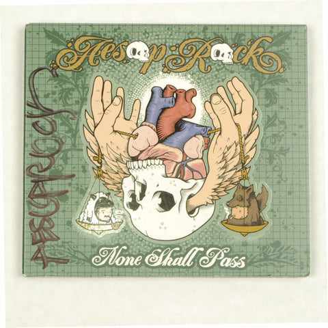 Aesop Rock - None Shall Pass, CD (autographed)