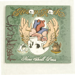 Aesop Rock - None Shall Pass, CD (autographed) - The Giant Peach