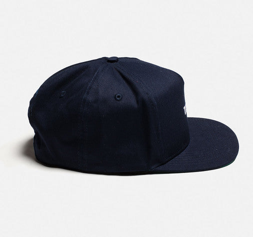 10Deep - Norm Snapback Cap, Navy - The Giant Peach